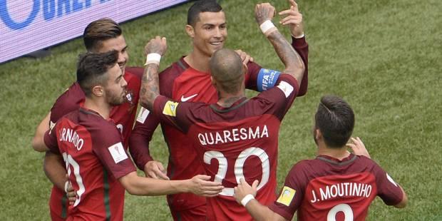 Coupe des Confédérations: Portugal et Mexique qualifiés, Russie éliminée - La DH