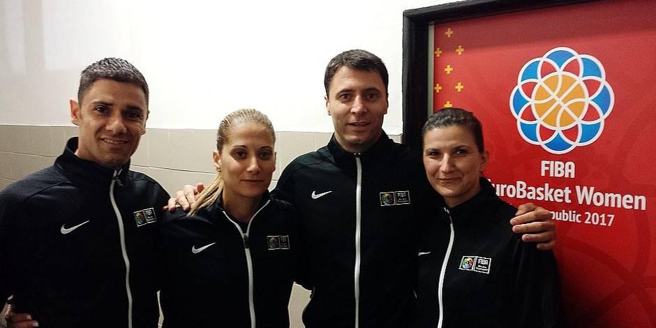 """Un arbitre belge à l'Euro de Basket : """"Hormis les vestiaires, il n'y a pas de différence"""" - La DH"""