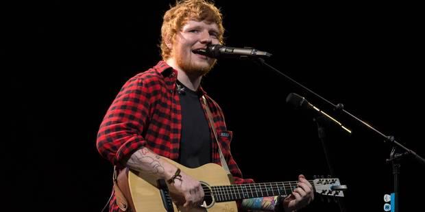 Ed Sheeran en concert à Werchter le 1er juillet 2018 - La DH