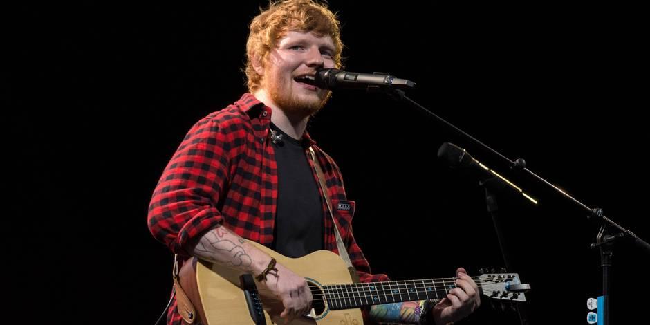 Ed Sheeran au Stade de France en 2018