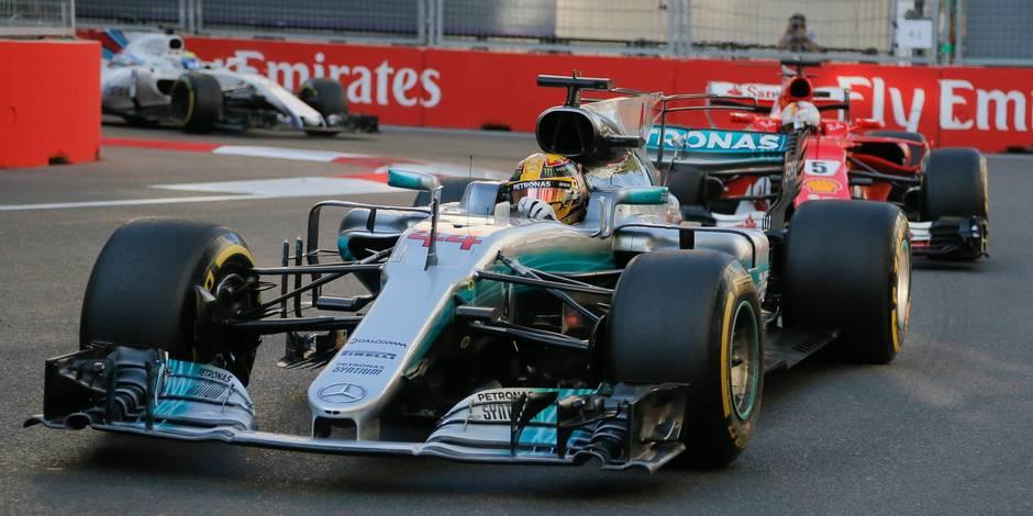 Hamilton domine les premiers essais en Autriche