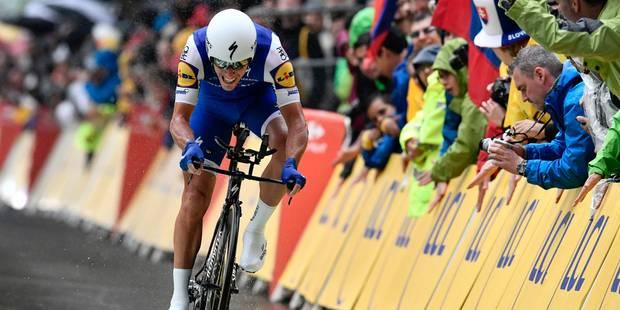 """Tour de France: Philippe Gilbert a """"fait le chrono à fond sur un parcours piégeux"""" - La DH"""