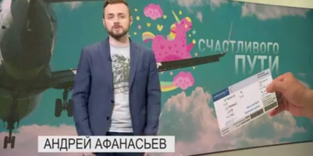 Une chaîne de télévision russe offre des allers simples en avion pour chasser les homosexuels - La DH