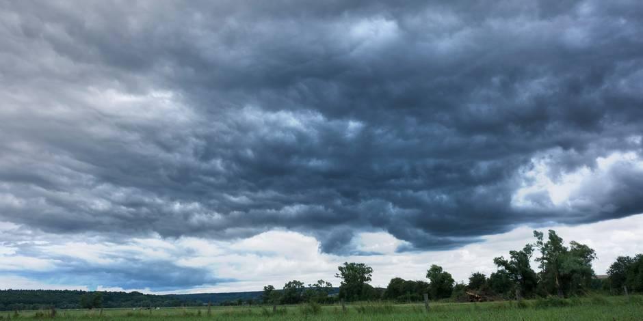 Une journée marquée par la pluie et peut-être même des orages