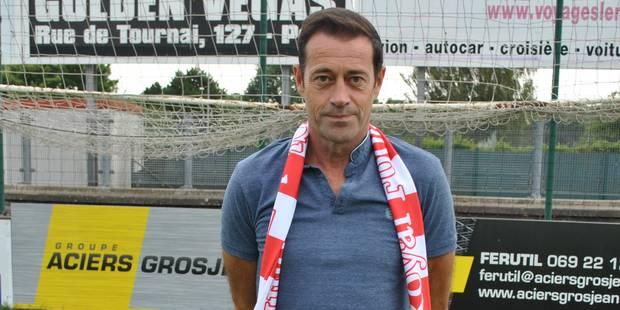 Tournai tient enfin son entraîneur ! - La DH