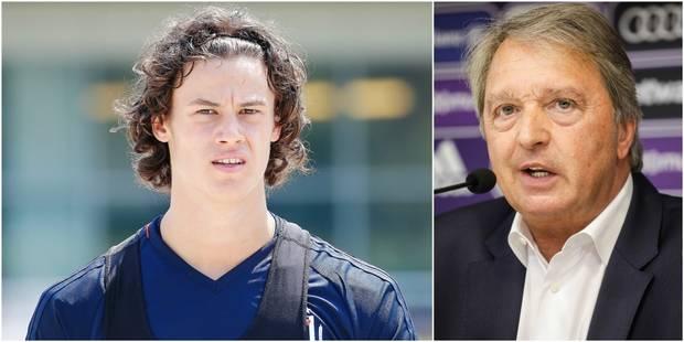 """Van Holsbeeck: """"Mile Svilar sera certainement titulaire la saison prochaine"""" - La DH"""