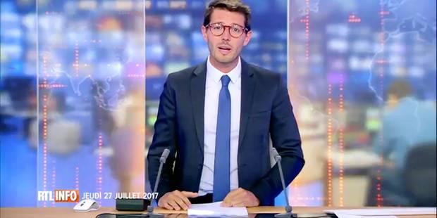 """Simon François, le nouveau présentateur du JT de RTL, se confie à la DH: """"Je rêve d'être journaliste depuis l'âge de 12 ..."""