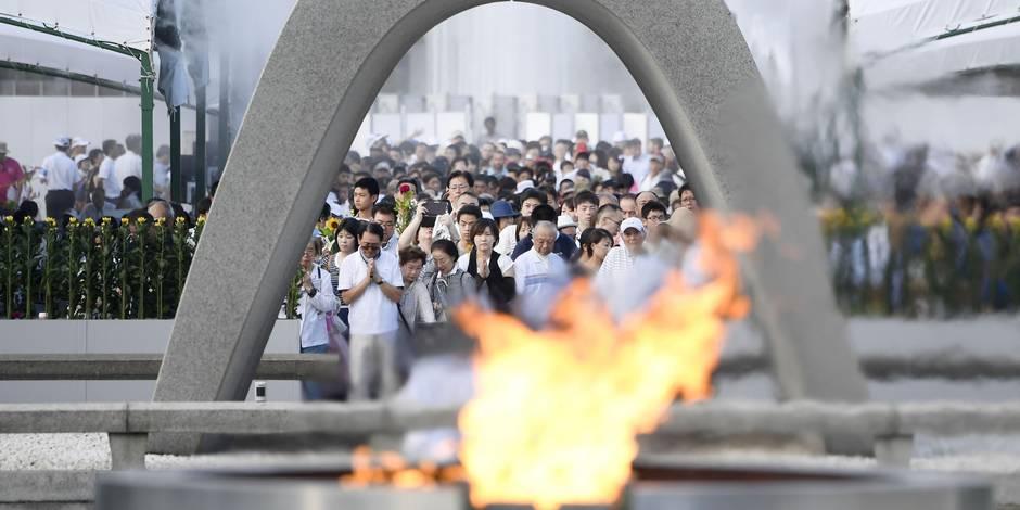 Le Japon se souvient de la première bombe atomique