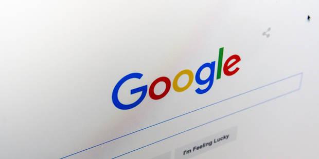 La filiale belge de Google dans le collimateur du fisc - La DH