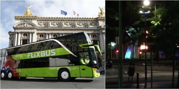 Bruxelles: un Flixbus incendié cette nuit (VIDEO) - La DH