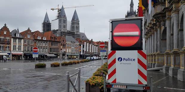 Tournai: L'application du sens unique de la Grand'place dès ce jeudi - La DH
