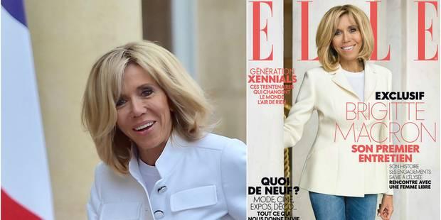 Brigitte Macron se confie au magazine Elle : sa soeur décédée dans un accident, son mari président, ses rides, elle parl...