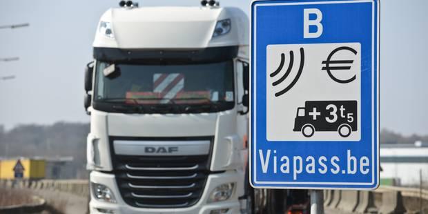 Des transporteurs néerlandais dénoncent des couacs avec le prélèvement kilométrique belge - La DH