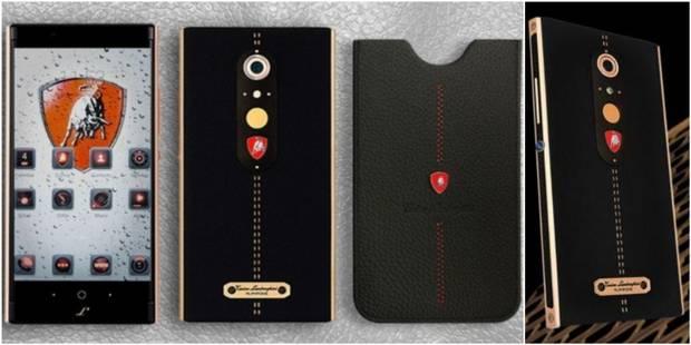 Lamborghini présente un smartphone à... 2450 dollars ! (PHOTOS) - La DH