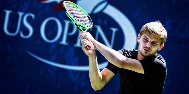 """US Open: Goffin, qui affrontera Benneteau, se sent """"frais dans la tête et motivé"""" - La DH"""