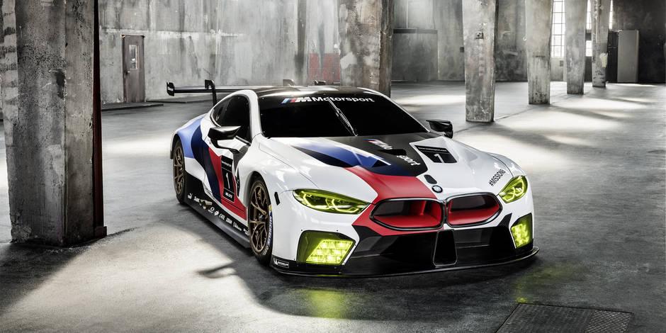 Salon de Francfort 2017 : BMW dévoile la M8 GTE