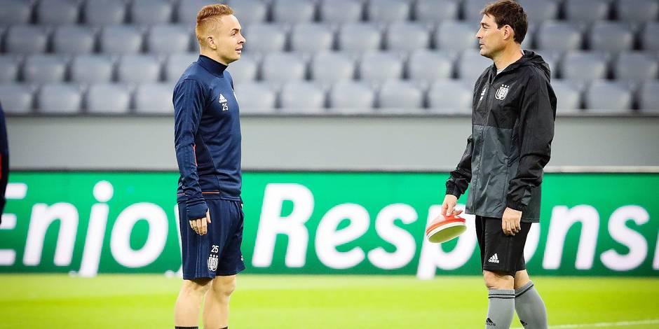 Anderlecht se sépare de son coach