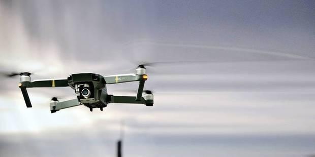 Des drones perturbent l'espace aérien autour de l'aéroport de Liège - La DH