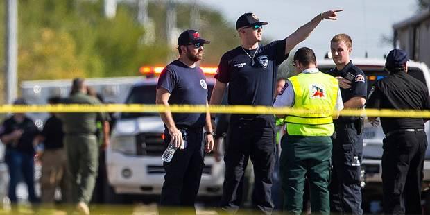 Etats-Unis: un homme tire dans une église du Texas et tue 26 personnes (IMAGES & VIDEO) - La DH