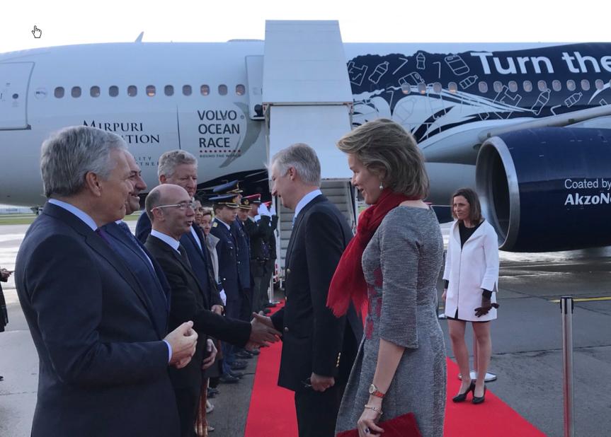Robe Esmeralda Ammoun pour quitter Bruxelles