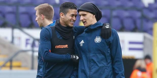 Sels blessé, Teodorczyk de retour à l'entraînement ouvert d'Anderlecht - La DH