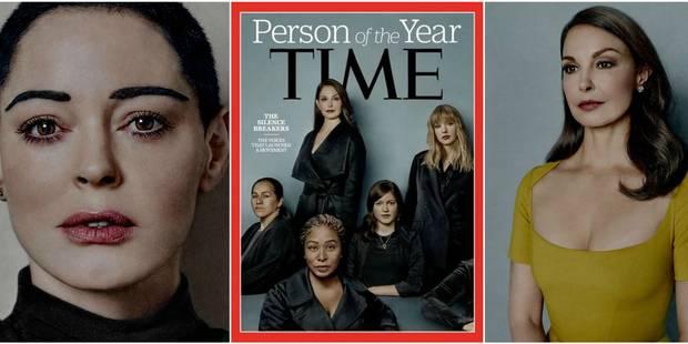 """Harcelées, ces femmes qui """"ont brisé le silence"""" sont les personnalités de l'année de Time Magazine - La DH"""