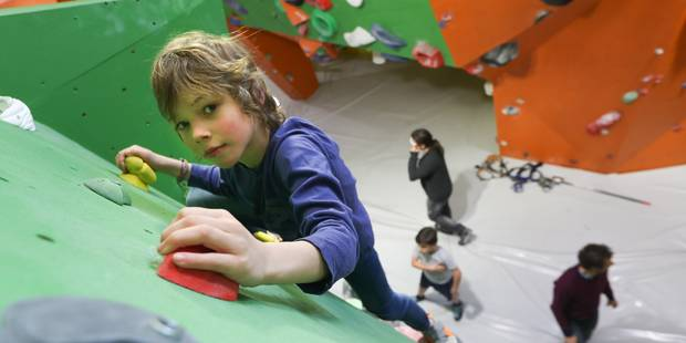 Woluwe-Saint-Lambert : Une salle d'escalade flambant neuve - La DH