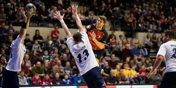 Handball : Les Red Wolves engrangent leur premier succès - La DH