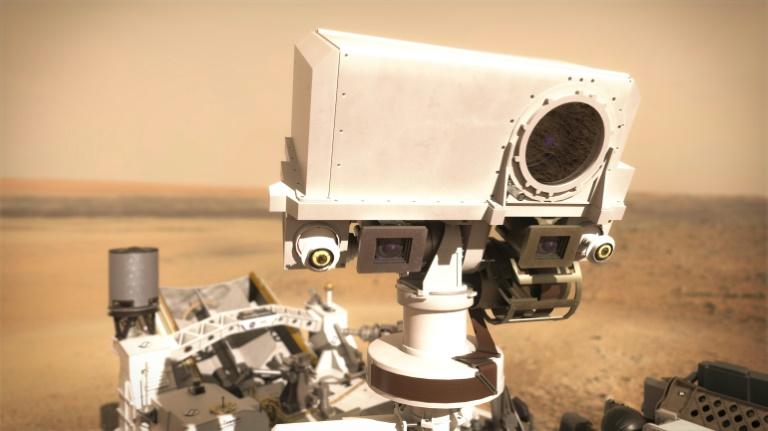 La SuperCam va étudier Mars au laser, en son et lumière - lalibre.be