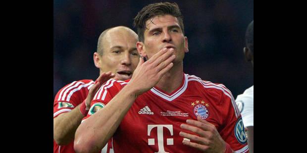 Le Bayern voit triple - La DH