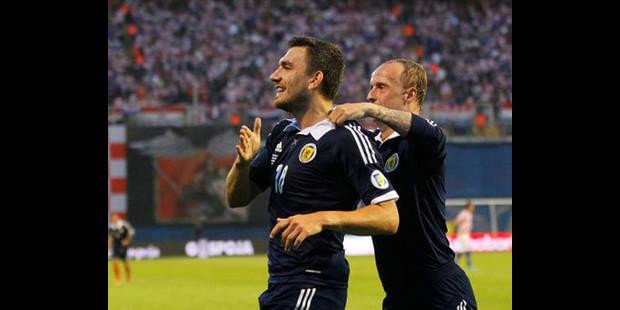 L'Écosse s'impose 0-1 en Croatie - La DH