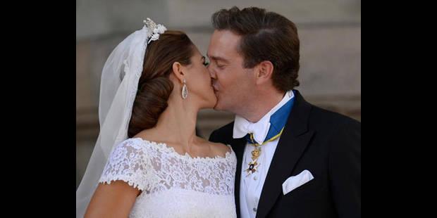 La princesse Madeleine de Suède a épousé le financier Chris O'Neill - La DH