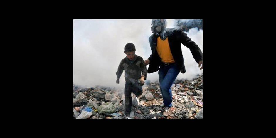 Guerre chimique sur le front de Damas ?