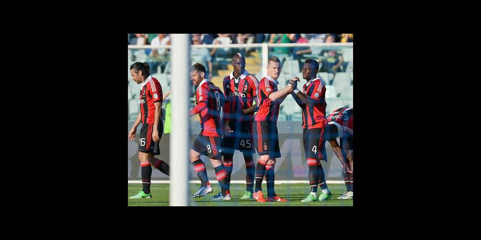 Serie A: l'AC Milan s'approche de la Ligue des champions