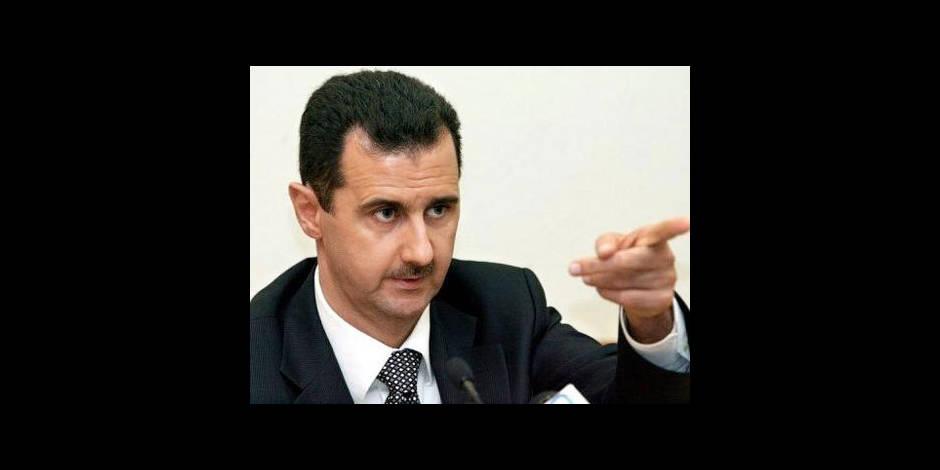 """Bachar al-Assad: """"Pas question de démissionner !"""""""