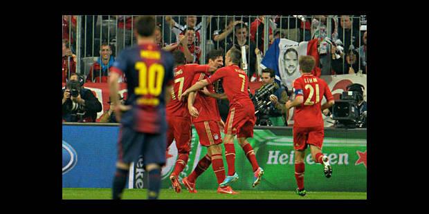 Le Bayern atomise le Barça et prend une option sur la finale (4-0) - La DH