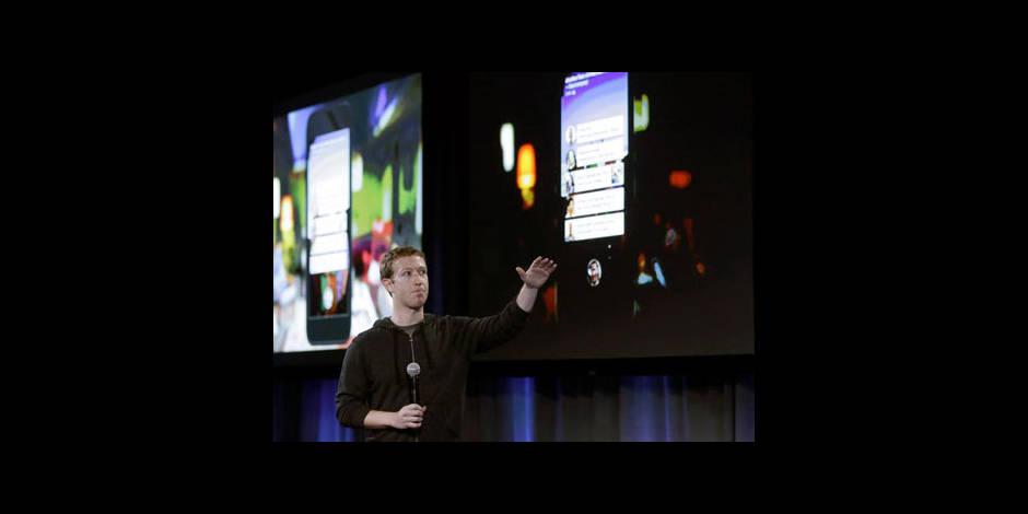 Facebook dévoile son propre logiciel pour les téléphones Android