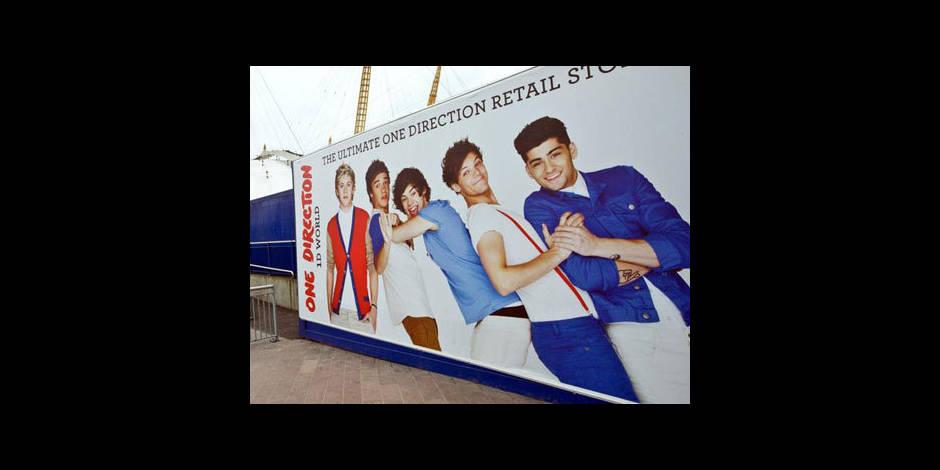 One Direction : des répétitions sous les cris des filles