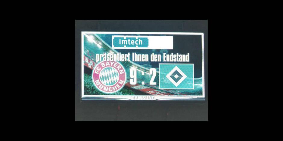 Le Bayern inflige un 9-2 Pâques à Hambourg