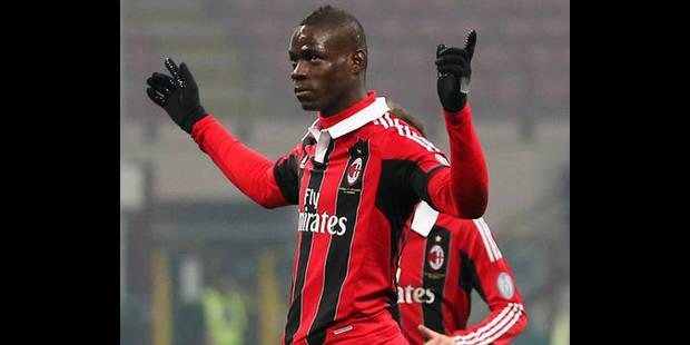 """Calcio: """"Super Mario"""" et Milan dominent Parme - La DH"""