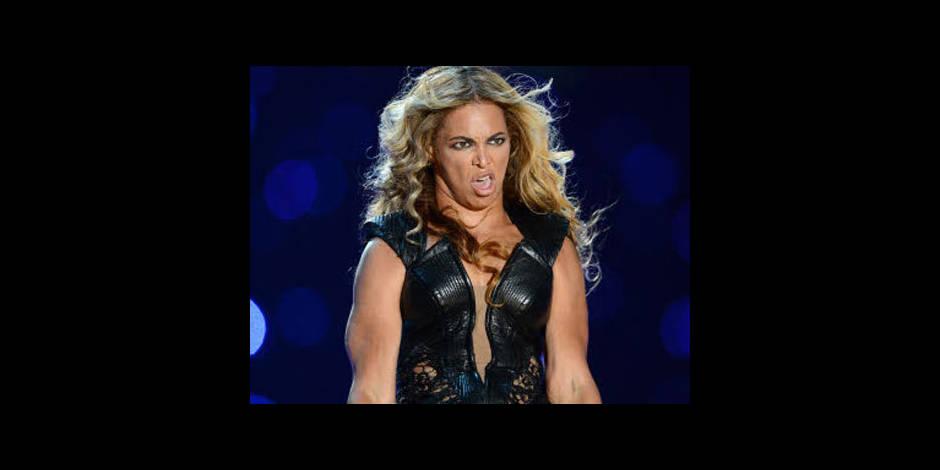Beyoncé veut faire supprimer certaines photos de sa prestation au Super Bowl