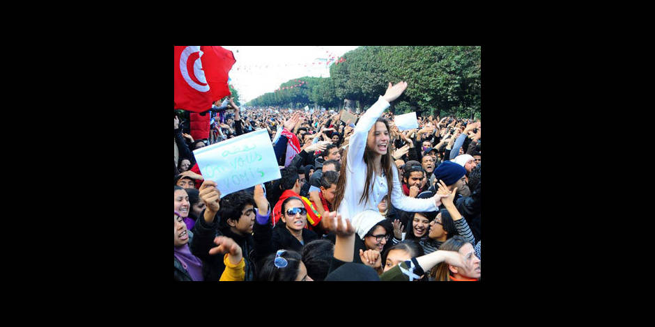 Les Tunisiens manifestent contre le pouvoir islamiste