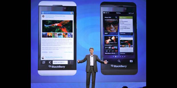 BlackBerry lance deux nouveaux téléphones - La DH
