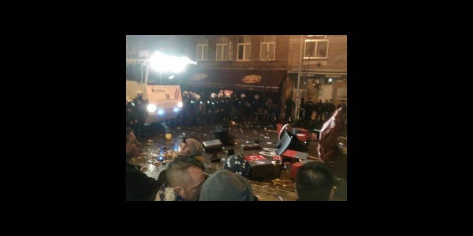 Clasico: douze interpellations et 4 policiers blessés