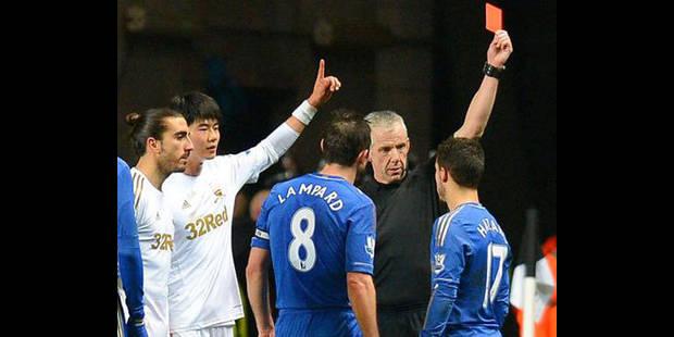 Hazard voit rouge pour avoir maltraité un ramasseur - La DH