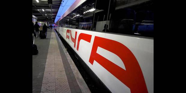 Fyra: le patron de la SNCB annonce des mesures fortes et urgentes - La DH