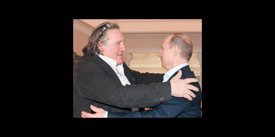 Depardieu bientôt ministre en Russie ?