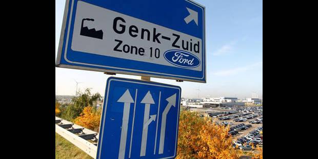 Ford Genk ne travaillera plus en 2012 - La DH