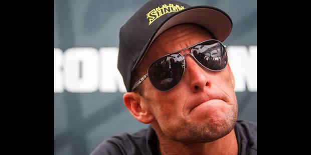 """""""Quand Armstrong est tombé, j'ai été heureux"""" - La DH"""