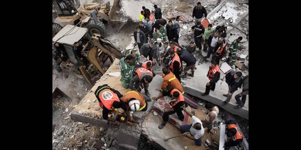 Bombardements sur Gaza: 10 morts et le siège du Hamas détruit - La DH